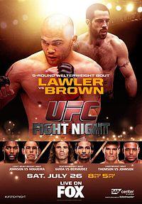 Lawler vs. Brown